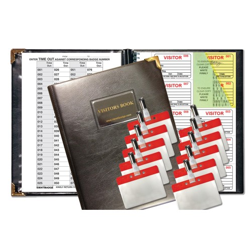 Secure Visitors Books and Products   GDPR Products for
