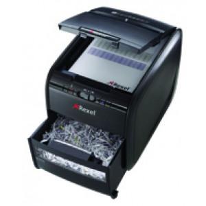 Rexel Auto 300M Micro Cut Shredder Black 2104300 Claim Cashback